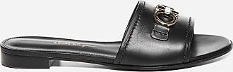 Salvatore Ferragamo Rhodes leather slides - SALVATORE FERRAGAMO - woman