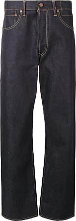 Visvim Calça jeans reta - Azul