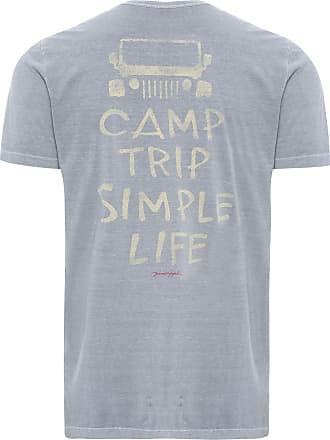 Pineapple T-SHIRT MASCULINA CAMP TRIP - CINZA
