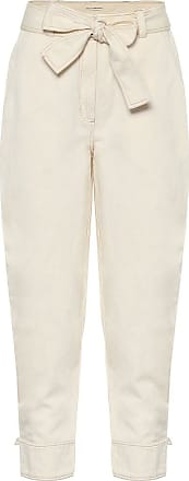 Ulla Johnson Levi cotton and linen carrot pants