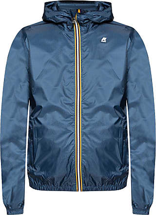 K-Way Jukes Light Ripstop Jacket Mens Navy Blue