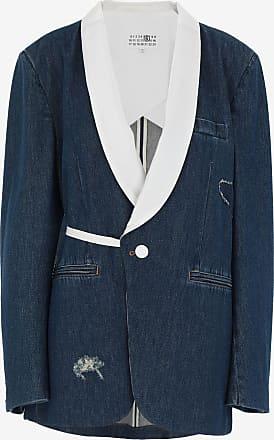 Maison Margiela Denim Tuxedo Blazer