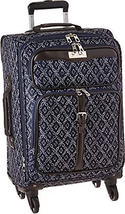 Chaps Expandable Carry On Spinner Luggage Navy, Tile