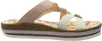 Think Womens Zega_484383 Flip Flops, Multicolour (Ivory/Kombi 94), 7.5 UK