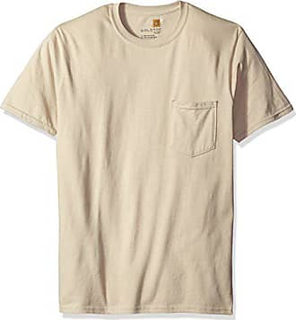 Gold Toe Mens Pocket T-Shirt, Cobblestone, Large