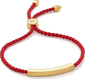 Monica Vinader Linear Coral bracelet - Red