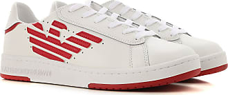 3ea622c997 Emporio Armani Sneaker für Herren, Tennisschuh, Turnschuh Günstig im Sale,  Weiss, Leder