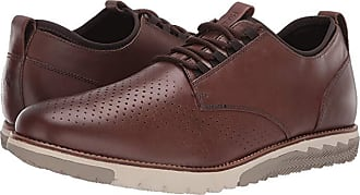 Hush Puppies Expert Perf Oxford (Saddle Brown Leather) Mens Lace up casual Shoes