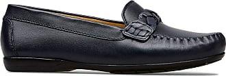 Van Dal Womens Minni Wide E Fit Leather Loafer Flat, Midnight, Size 37 EU