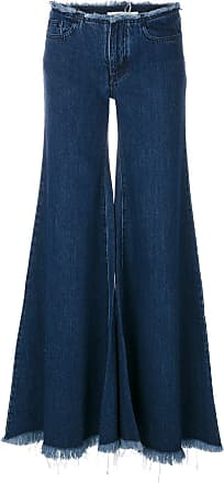 Marques Almeida flared wide-leg jeans - Blue