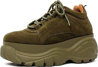 Damannu Shoes Tênis Buffalo Verde Militar - Cor: Verde - Tamanho: 35