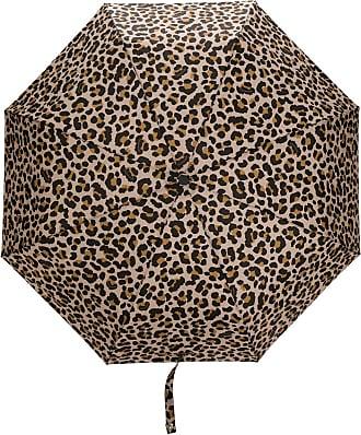 Mackintosh AYR leopard print umbrella - NEUTRALS