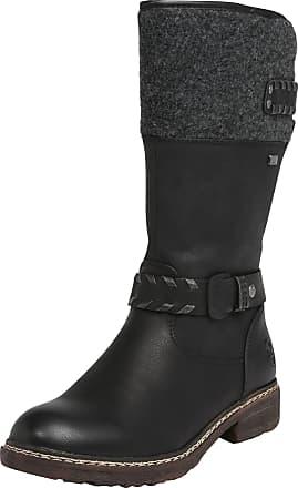 Stiefel 79983 01 schwarz Schuhe Winterstiefel Damen