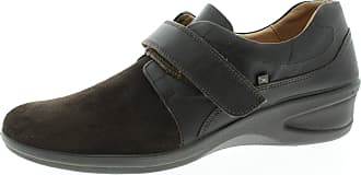Xsensible Alexia 22712327G Womens Shoes with Velcro Fastener Coffee Brown Size: 8 UK