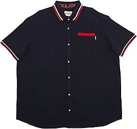Jack & Jones plus size short sleeve pique shirt