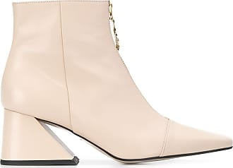 Yuul Yie chunky heel ankle boots - NEUTRALS