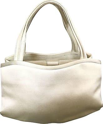 Manolo Blahnik Vintage Ivory White Silk Satin 90s Bridal Evening Bag Purse