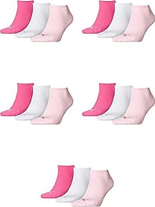 Puma Quarter Damen Sneakers Socken 9er Set 9 Paar Pink Lady