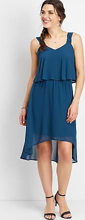Maurices V-Neck High-Low Dress