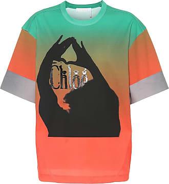 Chloé Printed cotton T-shirt