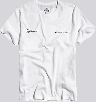 HOLUBAR t-shirt mountain jj23 bianco