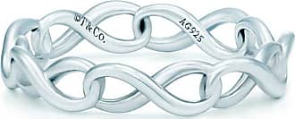 Tiffany & Co. Tiffany Infinity narrow band ring in sterling silver - Size 6