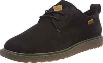 Reef Mens Voyage Low-Top Sneakers, Black (Black/Gum Bgu), 11 UK