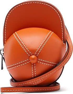 J.W.Anderson Nano Cap Leather Bag - Womens - Orange