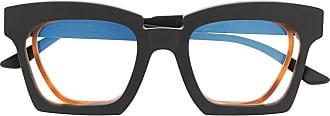 Kuboraum oversized square glasses - Preto