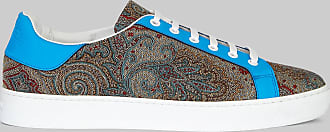 Etro Paisley Sneakers With Fluo Detailing, Man, Multicolor, Size 41