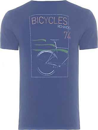 Richards T-SHIRT MASCULINA SILKADA BICYCLES - AZUL