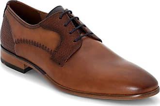 Lloyd Men Business Shoes Heath, Men´s Lace-Up Flats,Low Shoe,lace-up Shoe,Derby Lacing,Suit Shoe,Dress Shoe,Office,Brandy/Pacific,10.5 UK / 45 EU