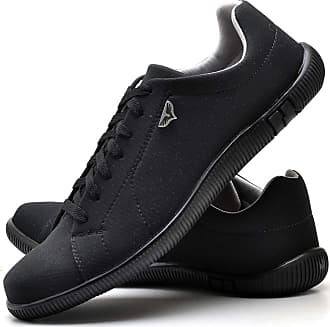 Juilli Sapatênis Sapato Casual Com Cadarço Masculino JUILLI 920DB Tamanho:41;cor:Preto;gênero:Masculino