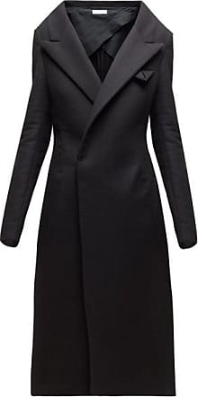 Bottega Veneta Double-breasted Cashmere Coat - Womens - Black