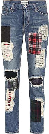 Junya Watanabe High-Rise Straight Jeans