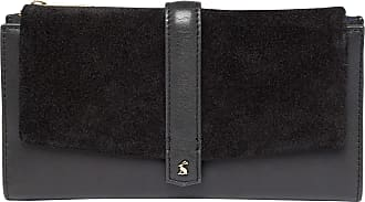 Joules Aycliffe Suede Purse One Size True Black