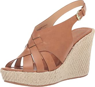 xoxo Womens Lazaro Fabric Open Toe Casual Ankle Strap Sandals, Tan, Size 5.5 US US