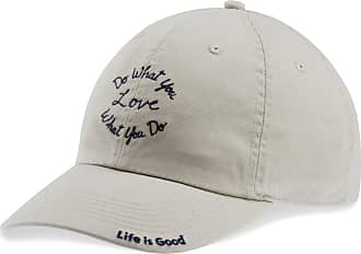 cc9cacf49a655 Life is good Do What You Love Script Chill Cap OS Bone