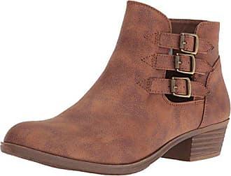 SUGAR Womens Tikki Ankle Bootie, Cognac, 7 M US