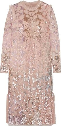 Needle & Thread Sequin-embellished Tulle Dress - Baby pink