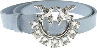 Pinko Belt for Women On Sale, Pastel Light Blue, Leather, 2019, Small Medium Large Extra Small
