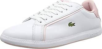 98edecb3bfe17 Lacoste Graduate 119 1 SFA Wht lt Pnk Sneaker Donna