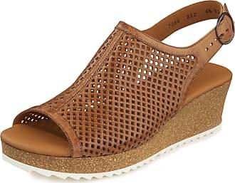 Paul Green Sandals lightweight cork look platform sole Paul Green brown