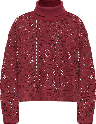 See By Chloé Lace turtleneck sweater