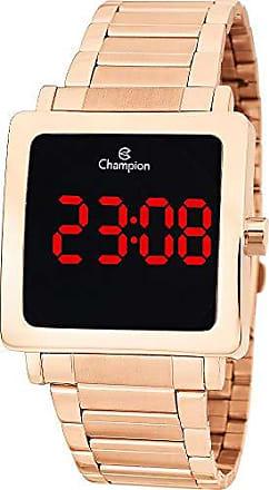 Champion Relógio Champion Digital Ch40197z Rosê Digital 3 Atm Cristal Mineral Tamanho Médio