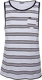 Animal sleeveless jersey tank with all over printed striped design