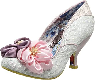 Irregular Choice Womens Little Peaches Closed Toe Heels, Pink (Pink B), 5 UK 38 EU