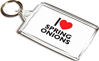 ILoveGifts KEYRING - I Love Spring Onions - Novelty Food & Drink Gift