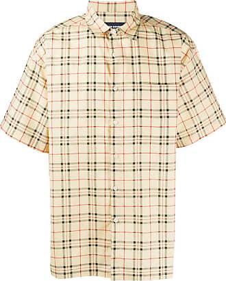 Noon Goons Camisa com estampa xadrez - Amarelo