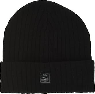 Barts Mens Parker Beanie Hat, Nero (Nero 1), One Size